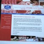 site voor slagerij Louman