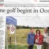 aandacht voor Groene Golflengte 2011 in de Stentor