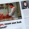 artikel met foto van slagers uit Baarn voor De Sla